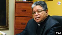"""El presidente de la Conferencia Episcopal Venezolana, José Luis Azuaje, urge a la realización de una elección """"viable y creíble"""" que zanje la crisis política (Foto: Gustavo Ocando)"""