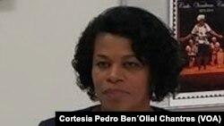 Fernanda Fernandes, ministra das Comunidades de Cabo Verde