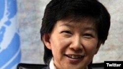 Izumi Nakamitsu, secretaria general adjunta de la ONU y Alta Representante para Asuntos de Desarme.