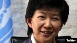 """La subsecretaria general de la ONU para asuntos de desarme, Izumi Nakamitsu, advirtió de una """"fractura"""" en las relaciones entre estados con armas nucleares."""
