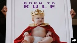 Британці поставили мільярд на королівські пологи. ФОТО