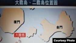 大胆二胆岛位置图(香港文汇报网站)
