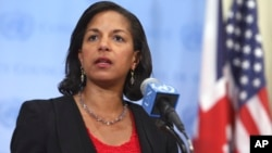 美国国家安全顾问苏珊·赖斯。