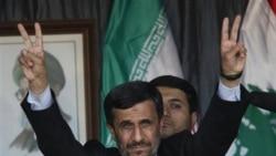 احمدی نژاد با حسن نصرالله ملاقات می کند