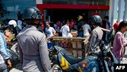 Penjarahan tidak bisa terhindarkan di Palu.