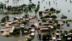 Kawasan Khyber Pakhtunkhwa di Pakistan utara termasuk daerah yang rawan banjir (foto: dok).