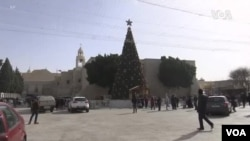 朝聖者雲集伯利恆慶祝聖誕節