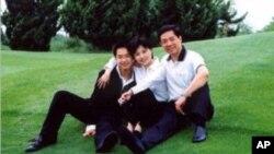出事前的薄熙来夫妇和儿子薄瓜瓜(网络照片)