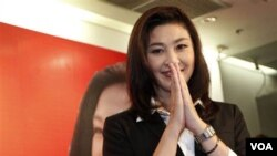 Pemimpin partai oposisi Pheu Thai, Yingluck Shinawatra, 44 tahun, adik mantan PM Thaksin, dipastikan akan menjadi PM Thailand berikutnya.