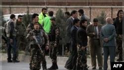 Район проведения Лойя-джирги, где накануне был убит террорист-смертник.