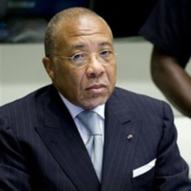 Former Liberian President Charles Taylor is seen at the U.N.-backed Special Court for Sierra Leone in Leidschendam, Netherlands (File Photo - August 5, 2010).