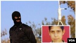 محمدرضا حدادی، کودک مجرم محکوم به اعدام