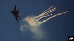 Самолет F-15 ВВС Израиля (архивное фото)