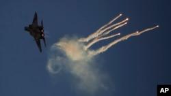 İsrail Hava Kuvvetlerine bağlı bir F-151 savaş jeti