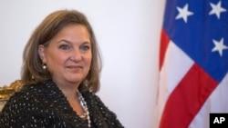 Trợ lý Ngoại trưởng Mỹ đặc trách châu Âu và Âu Á Victoria Nuland