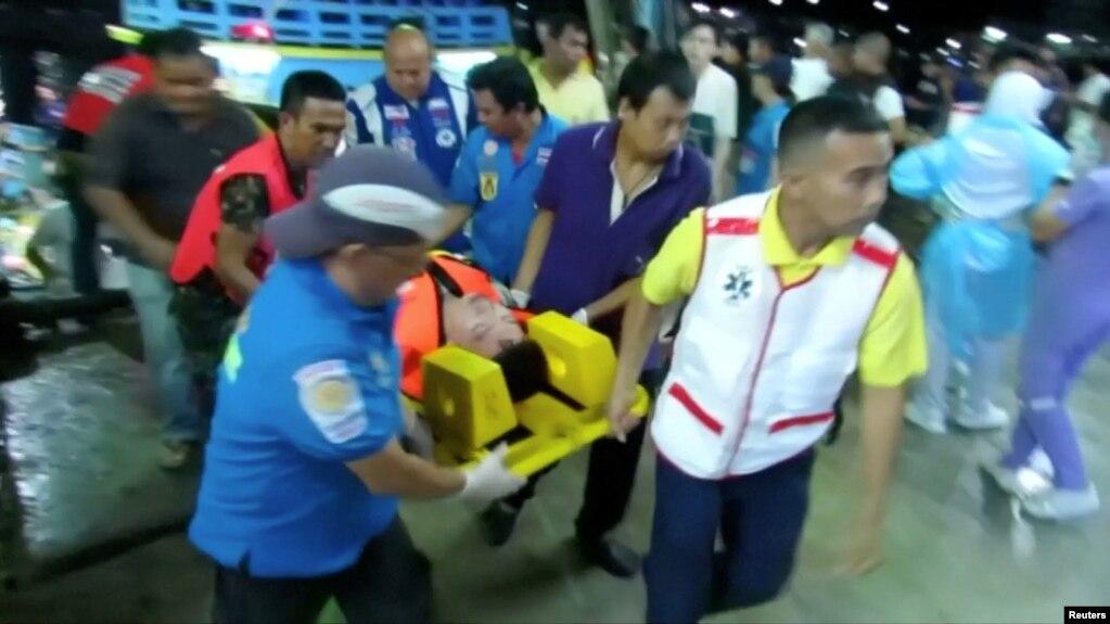 Một quan chức Thái nói không có hy vọng về người sống sót trong vụ chìm tàu hôm 5/7
