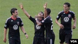 Andy Najar se convirtió en la figura más joven en ser nombrado Novato del Año por la MLS.