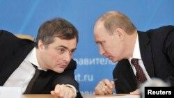Razgovor Putina i Surkova tokom posjete Kurganu