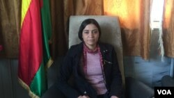 Zelal Ceger member of Democratic Society in North Syria