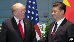 Shugaba Trump da Shugaba Shi (Xi)