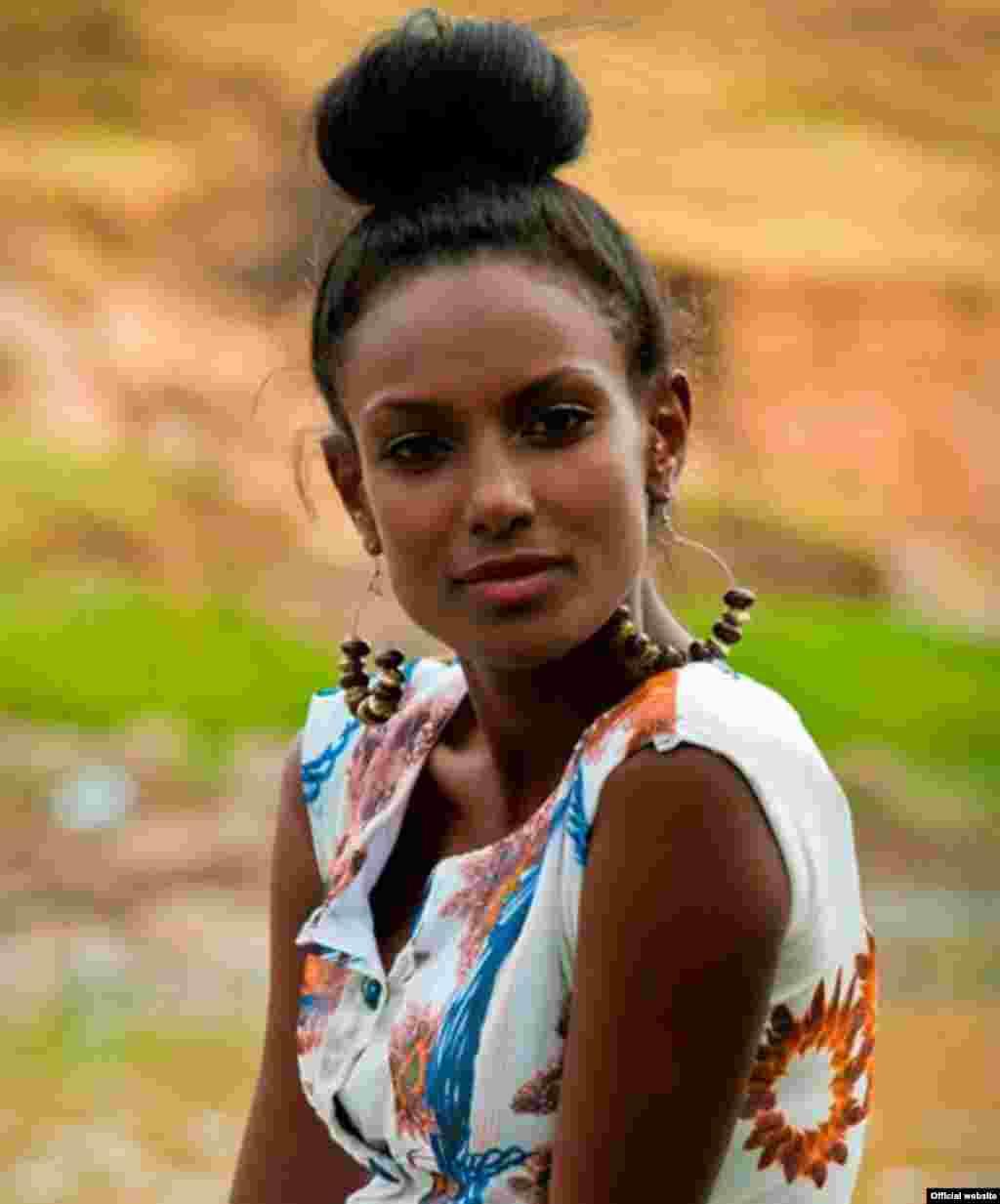 A Etiópia ocupa o 3º lugar da lista da Afrojuju.net que elegeu os 10 países com as mulheres mais bonitas de África (Yirlagem Hadish na foto)