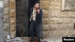 2016年4月底叙利亚反对派持有的阿勒坡再度遭到空袭