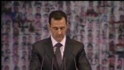 """2013-01-06 美國之音視頻新聞: 阿薩德稱與""""恐怖分子""""繼續作戰"""