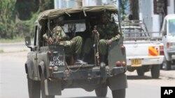 Situasi keamanan di Mombasa (Foto: dok). Polisi Kenya menembak mati dua orang Islamis yang diduga terkait kelompok militan al-Shabab di Somalia (29/10).