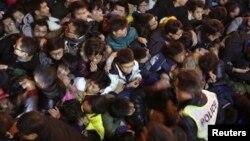 Stampedo tokom proslave Nove godine u Šangaju
