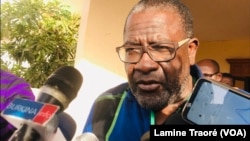 Me Ferdinand Zeppa, avocat de la famille Sankara, Ouagadougou le 26 octobre 2021 (VOA/Lamine Traoré)