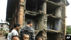 ভূমিধ্বসের কারণে ভারতের ভূমিকম্প উপদ্রুত এলাকায় উদ্ধার কাজ ব্যাহত