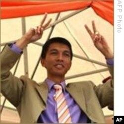 Madagascar leader Andre Rajoelina