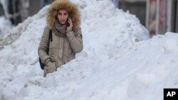 Penelitian menunjukkan salju yang berumur setengah hari, aman untuk dikonsumsi (foto: ilustrasi).