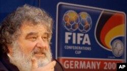 FIFA ကမာၻ႔ေဘာလံုး အဖြဲ႔ခ်ဳပ္ အမႈေဆာင္ ေကာ္မတီအဖြဲ႔ဝင္ေဟာင္း Chuck Blazer။