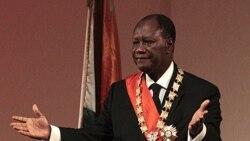 السان اواتارا بعنوان رييس جمهوری ساحل عاج آغاز به کار کرد