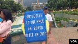 Los venezolanos llegaron en busca de trabajo. Foto: Álvaro Algarra/VOA.