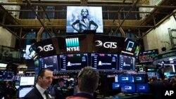El Promedio Industrial Dow Jones subió 31,94 puntos, según últimos datos.