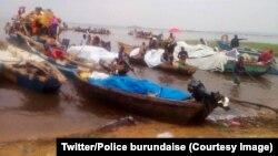 Près de 3.500 Congolais fuyant des combats entre l'armée et des rebelles dans la province du Sud-Kivu, dans l'est de la RDC, sont arrivés au Burundi, 25 janvier 2018. (Twitter/Police burundaise).