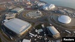 Olympic Park di distrik Adler, Sochi di Rusia, tempat Olimpide Musim Dingin akan berlangsung 7-23 Februari. (Foto: Dok)