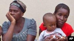 Mãe, esposa e filho de Alves Kamulingue
