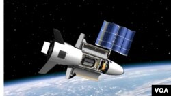 El X-37B fue lanzado en abril de 2010 como un satélite a bordo de un cohete.