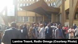 Reportage d'Issa Napon, correspondant de VOA Afrique à Ouagadougou