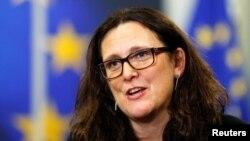 Comisionada Comercial de la Unión Europea, Cecilia Malmstrom