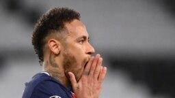 Dan wasan PSG Neymar, Wanda za su kara da Man City