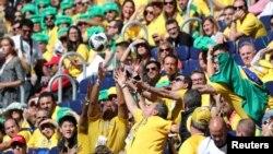 شهروندان بسیاری کشور ها از سراسر جهان در مسابقات جام جهام فوتبال ۲۰۱۸ روسیه اشتراک کرده اند