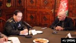 رئیس جمهور غنی در دیدار با لوی درستیز چین گفته است که بدون تفکیک خوب و بد با تروریزم مبارزه شود.