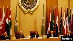 Pertemuan para Menlu Liga Arab di Kairo, Mesir sepakat untuk melawan ISIS secara bersama-sama (7/9).