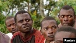 Des anciens rebelles en République démocratique du Congo (RDC) (Reuters)