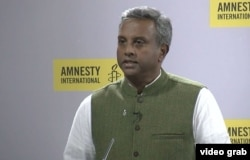Amnesty International Secretary-General Salil Shetty.