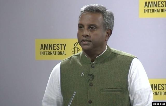 Amnesty International Secretary-General Salil Shetty.